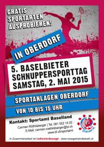 Schnuppersporttag 2015 Oberdorf