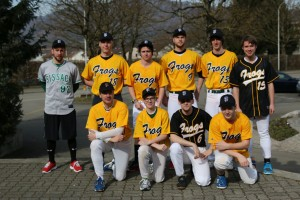 Sissach Frogs 1-Liga Team