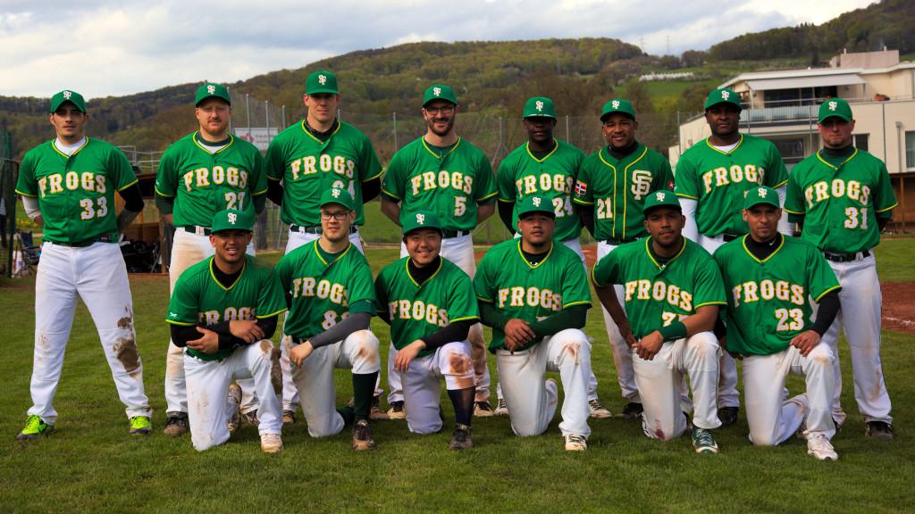 Sissach Frogs Teamfoto NLA 2016